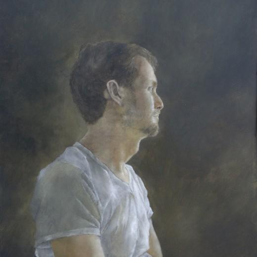 J. Austen, oil on panel