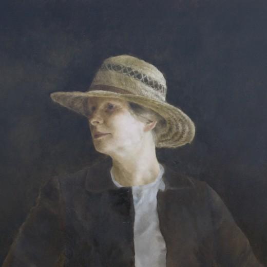S. Tilden, oil on panel, SOLD