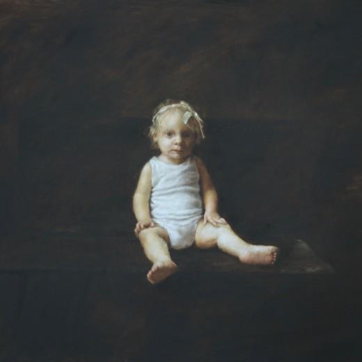 Ilana, Oil on panel