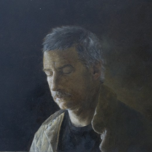 The Artist's Father, oil on panel, SOLD
