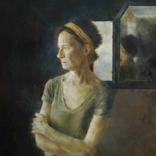 Vanitas, Oil on Panel, SOLD